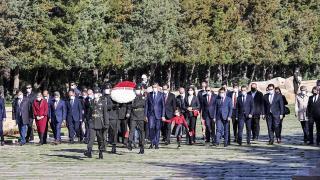Milli Eğitim Bakanı Selçuk'un Anıtkabir ziyareti