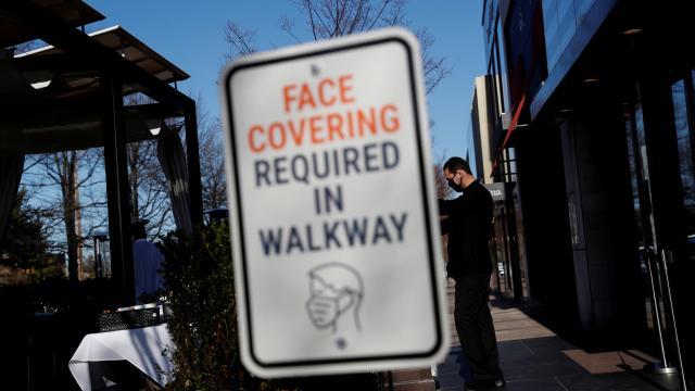 ABDde maske için açık alan düzenlemesi gündemde