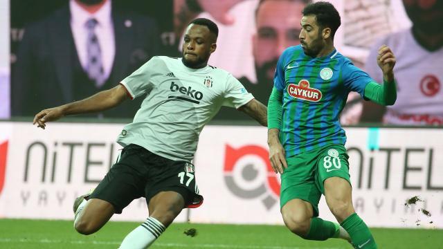 Beşiktaş ile Rizespor 40. randevuda