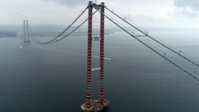 Çanakkale Köprüsü için 1500 gündür aralıksız çalışma
