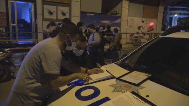 İzmirde aynı eğlence mekanına ikinci baskın: 177 bin lira ceza