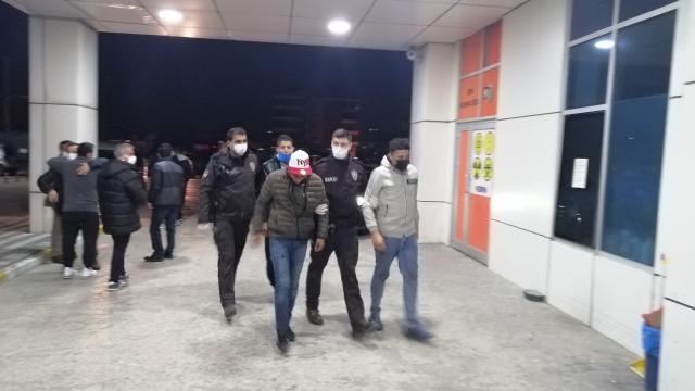 Tekirdağda 25 düzensiz göçmen yakalandı