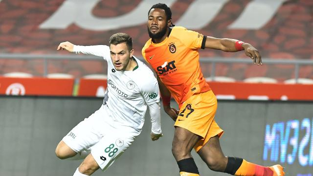 Galatasaray ile Konyaspor 40. randevuda