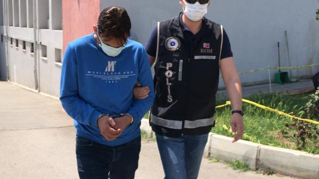 Adanada evlere tırmanarak girip hırsızlık yapan zanlı tutuklandı