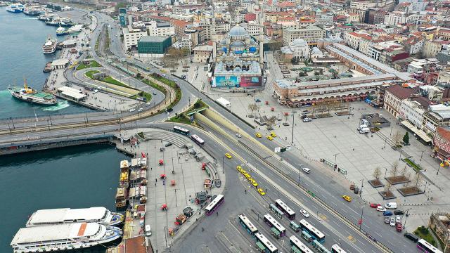 İstanbulda 1 Mayısta bazı yollar trafiğe kapatılacak