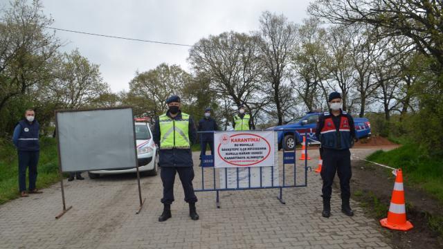 Balıkesirde 9 mahalle karantinaya alındı
