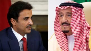Suudi Arabistan Kralı Selman, Katar Emiri Temim'i ülkesine davet etti