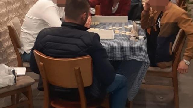 Trabzonda kumar oynayan 6 kişiye 18 bin 900 lira ceza kesildi