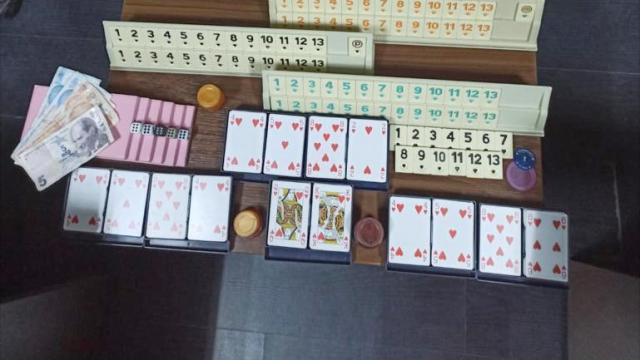 Denizlide iş yerinde kumar oynayan 10 kişiye 65 bin lira ceza