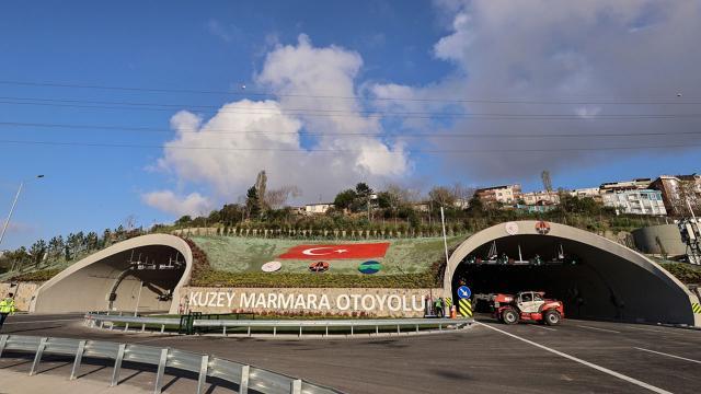 Kuzey Marmara Otoyolunun son kesimi açılışa hazır