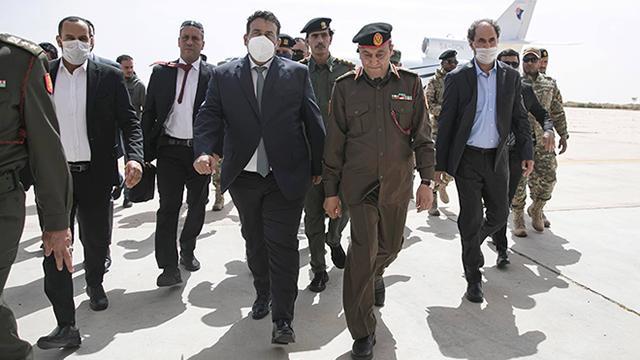 Libyada 5+5 Ortak Askeri Komite temsilcileri Sirtede toplandı