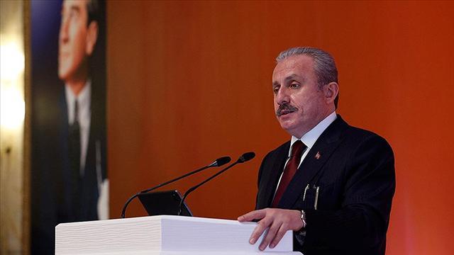 TBMM Başkanı Şentoptan Bidena: Türkiye zarar görmez ama ilişkiler zarar görür