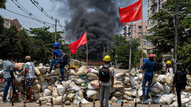 Myanmarda can kaybı 753e çıktı