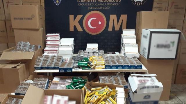 İzmirde tütün kaçakçılığı operasyonunda 2 kişi yakalandı