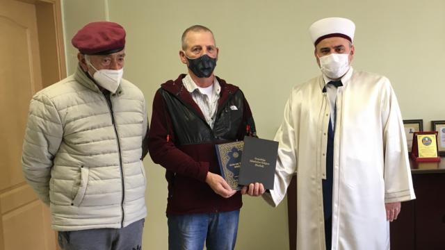 Bursada yaşayan Alman vatandaşı ramazan ayından etkilenip Müslüman oldu