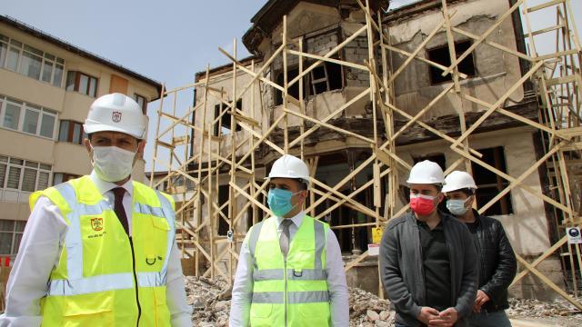 Sivasta sivil mimari dokunun yaşatılması hedefiyle eski konaklar restore ediliyor
