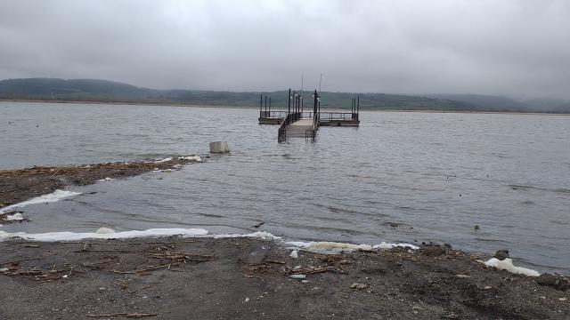 Yeniçağa Gölünde su seviyesi yükseldi