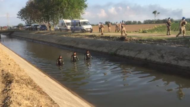 Osmaniyede sulama kanalına düşen 2 kardeş kayboldu