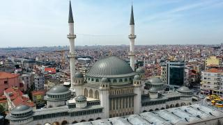 Taksim Camii 7 Mayıs'a hazırlanıyor
