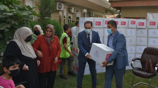 TİKA, Irakta ramazan süresince 4 bin aileye gıda yardımında bulunacak