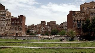 Savaş yorgunu Yemen'in tarihi evleri