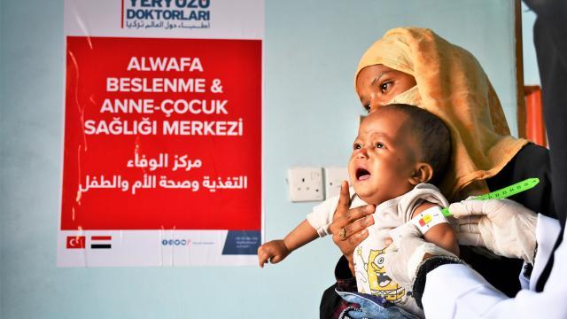 Yeryüzü Doktorları ve Nef Vakfı Yemende açlıkla mücadele edecek