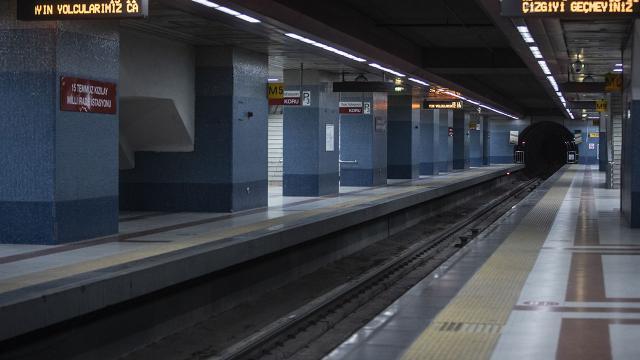 Metro ve Ankarayda tam kapanma düzenlemesi