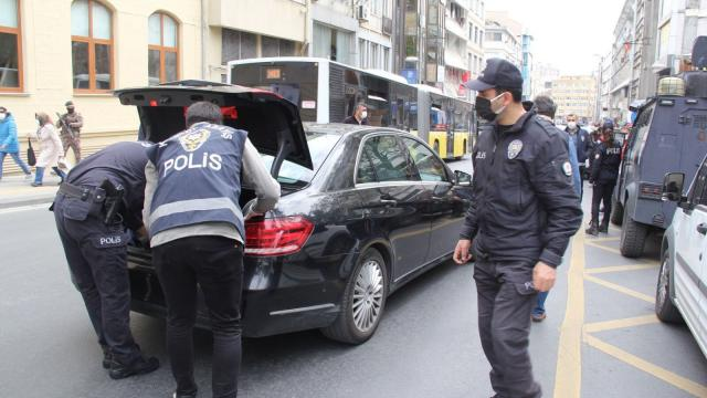 Yeditepe Huzur uygulamasında 383 kişi yakalandı