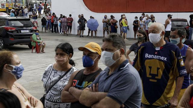 Brezilyada can kaybı 400 bini geçti