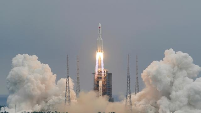 """Çin Uzay İstasyonunun çekirdek modülü """"Tienhı"""" uzaya gönderildi"""