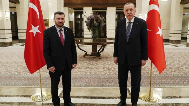 Cumhurbaşkanı Erdoğan, Avrupadaki bazı Türk STK temsilcilerini kabul etti