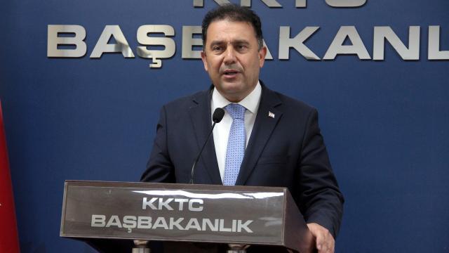 KKTC Başbakanı Sanerden 6 maddelik öneri değerlendirmesi