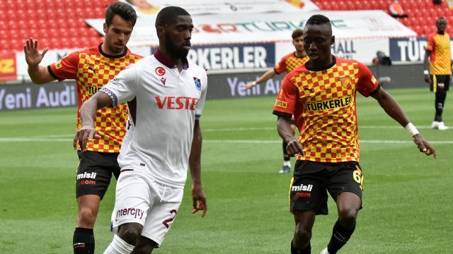 Göztepede 5, Trabzonspor 2 değişiklik