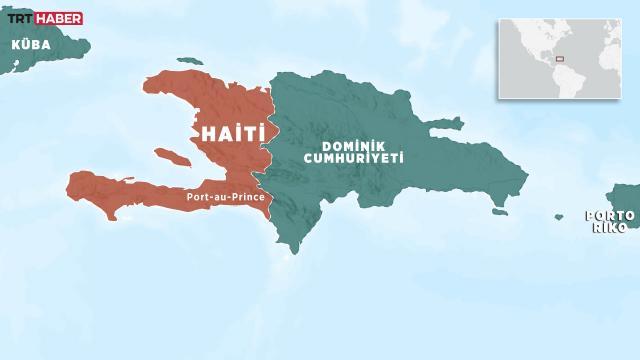 Haitide otobüs ile minibüs çarpıştı: 21 ölü, 30 yaralı