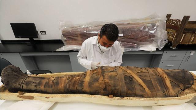 Antik Mısır mumyasının hamile bir kadına ait olduğu ortaya çıktı