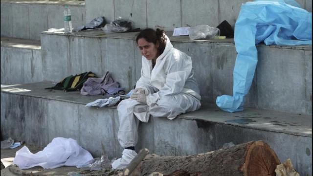 Hindistanda yangın faciası: 18 koronavirüs hastası öldü