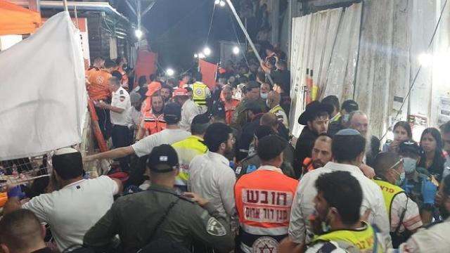 İsrailde 45 kişinin öldüğü izdihamın suçlusu aranıyor