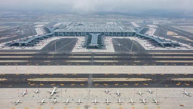 İstanbul Havalimanı Avrupada zirvede
