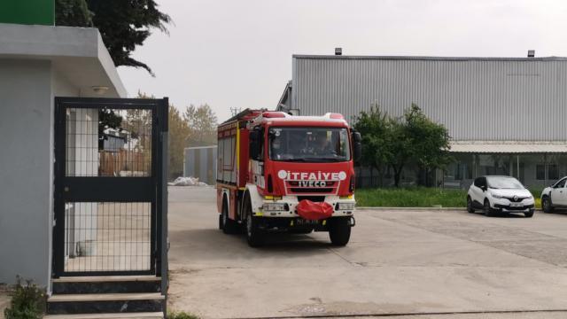 Kocaelide geri dönüşüm fabrikasında yangın