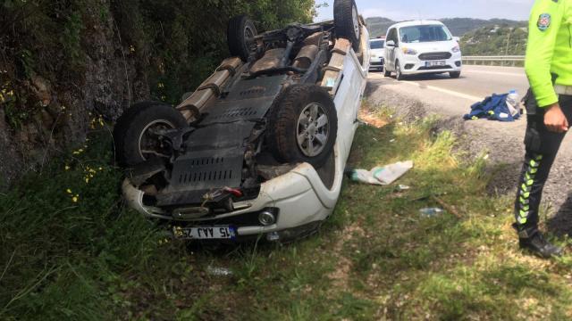 Antalyada trafik kazası: 5 yaralı