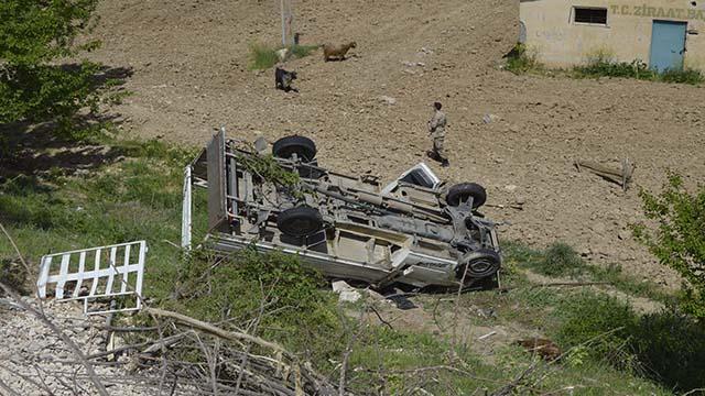 Adıyamanda kamyonet şarampole devrildi: 1 ölü, 1 yaralı