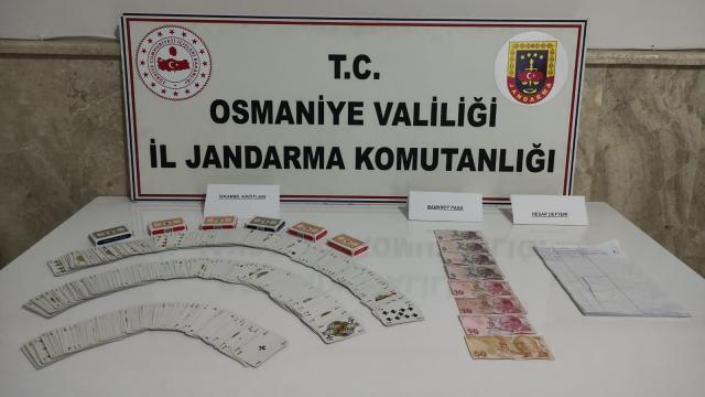 Osmaniyede kumar oynayan 11 kişiye para cezası