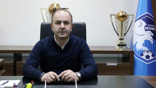 Erzurumspor Başkanı Ömer Düzgünün testi pozitif çıktı