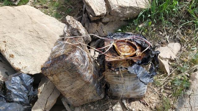 Bitliste 90 kilogram el yapımı patlayıcı imha edildi