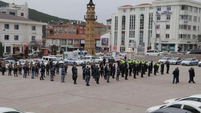 """Yozgatta """"tam kapanma"""" denetimlerinde 514 polis görev alacak"""