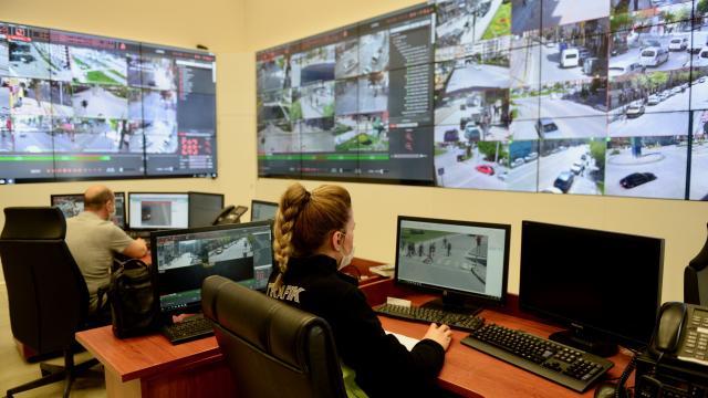 Eskişehir tam kapanma sürecinde güvenlik kameraları ile izleniyor