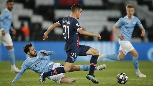 PSGyi deplasmanda yıkan Manchester City avantajı kaptı