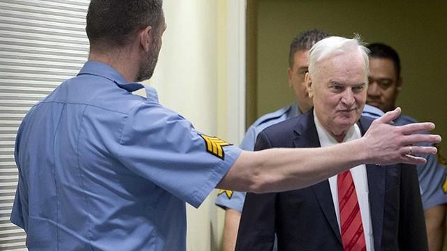 """""""Bosna Kasabı"""" lakaplı Mladicin davasında nihai karar 8 Haziranda"""