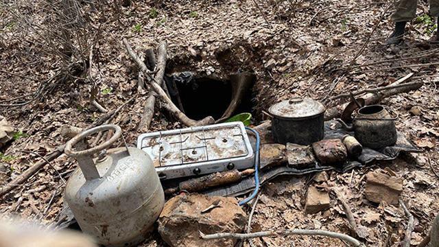 Tuncelide teröristlerin kullandığı 27 sığınak ve 3 depo imha edildi