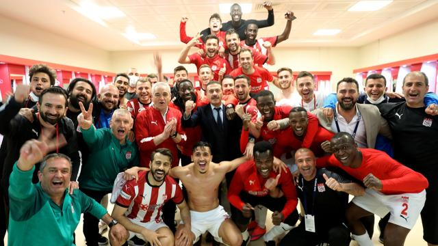 Sivassporun yenilmezlik serisi 15 maça çıktı